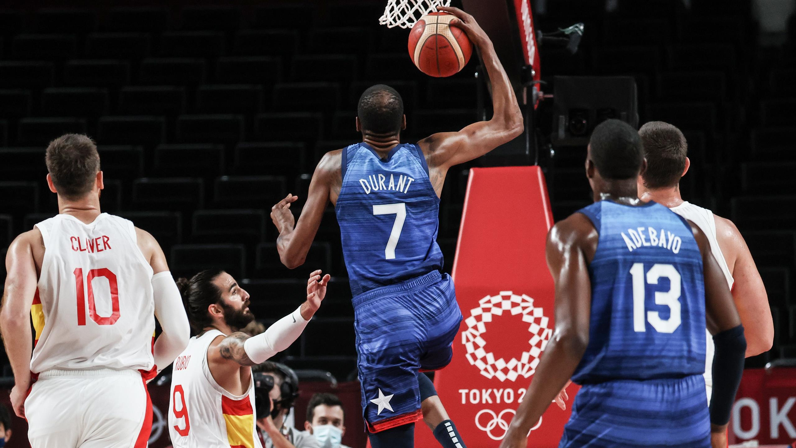 Tokyo 2020 |  The United States reached the semi-finals after beating Spain