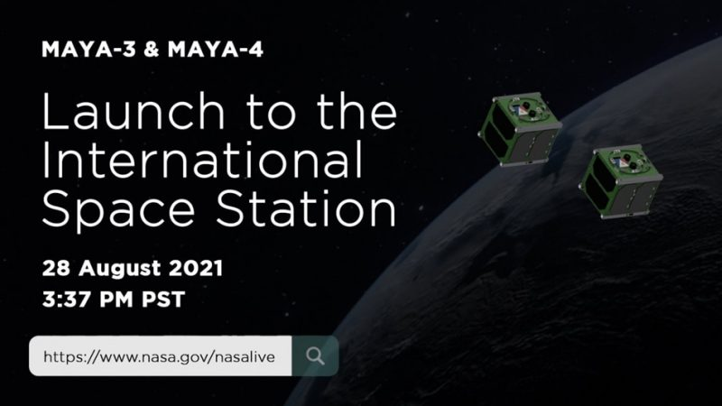 Two PH cube-shaped satellites launched to the International Space Station