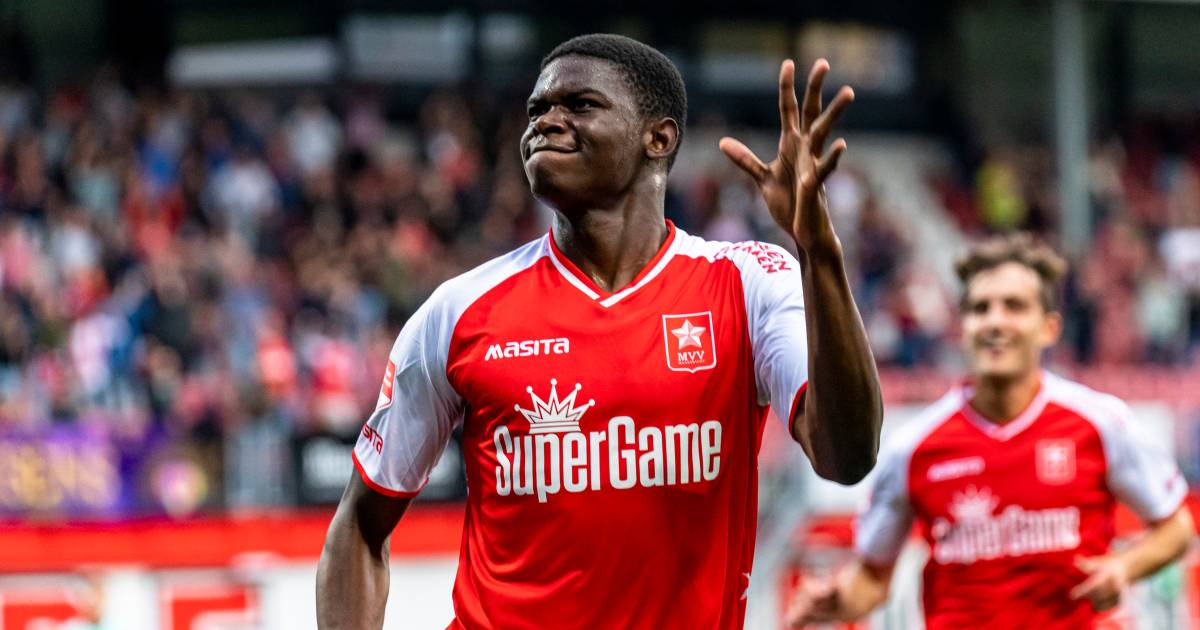 Unleashed striker helps MVV win, Seuntjens drops with a great comeback    Dutch football