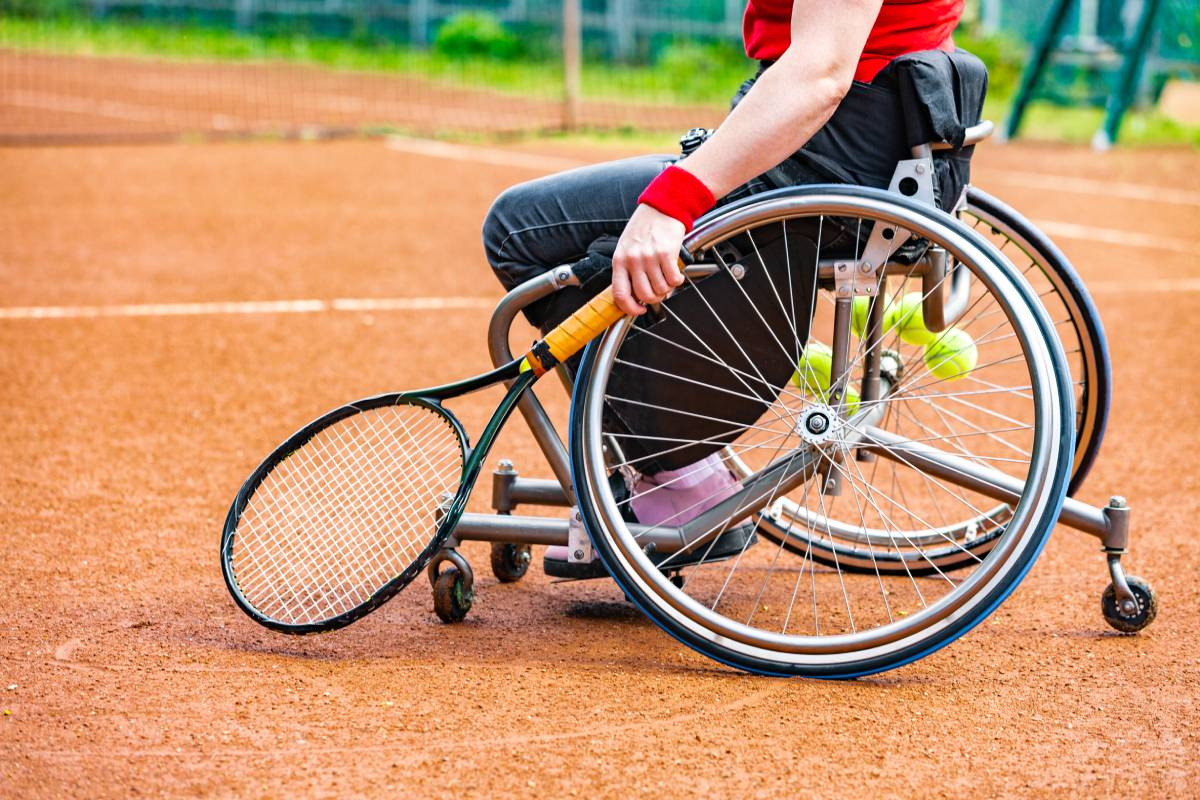 Watch wheelchair tennis matches live at the Paralympics