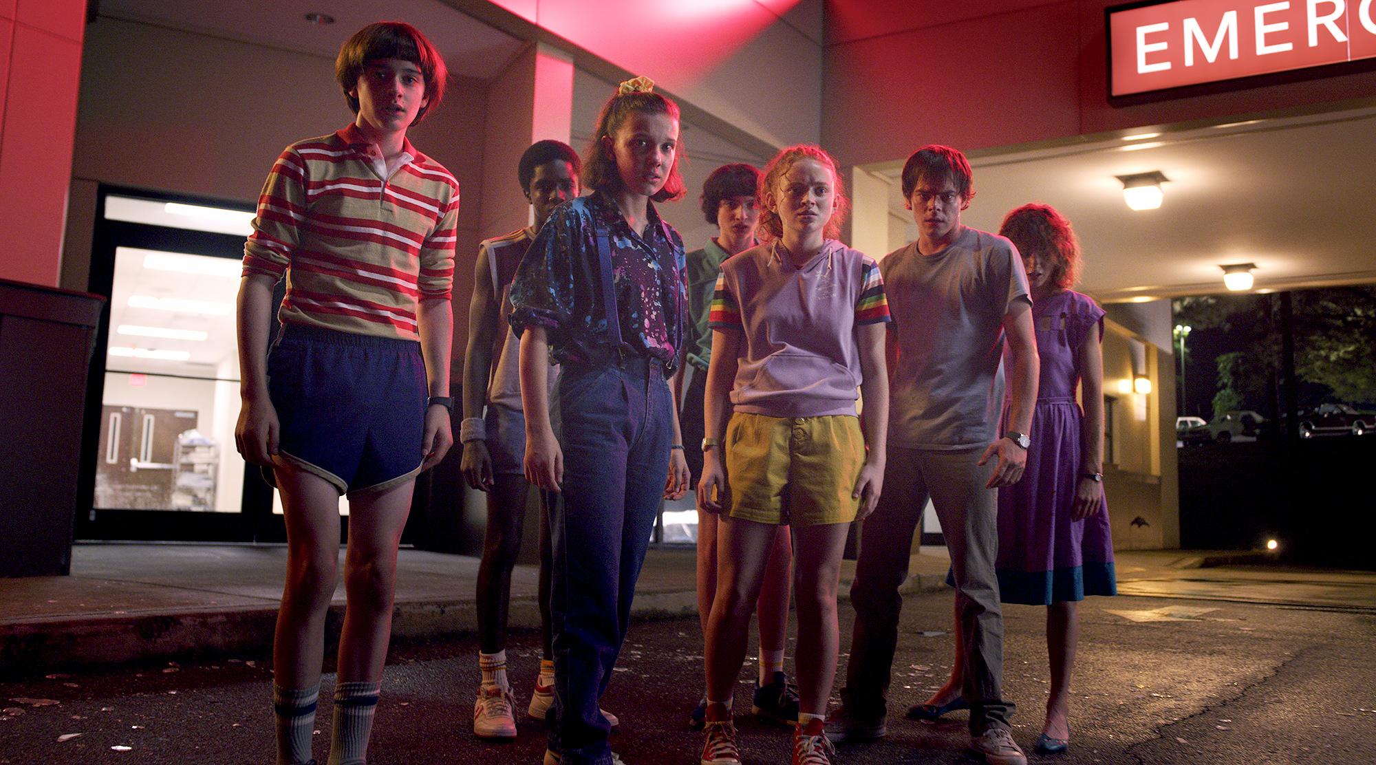 Whew: Film Studios Shot 'Stranger Things'