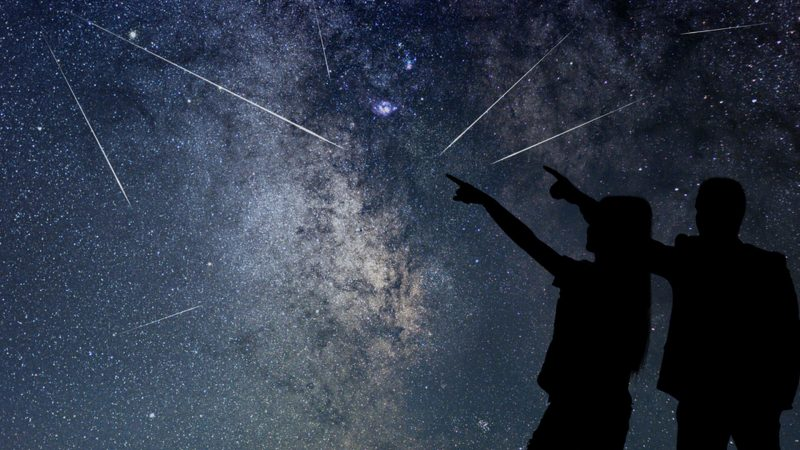 With a bit of luck you'll see over 60 stars per hour tonight.  Then the Perseids meteor showers reach their climax.