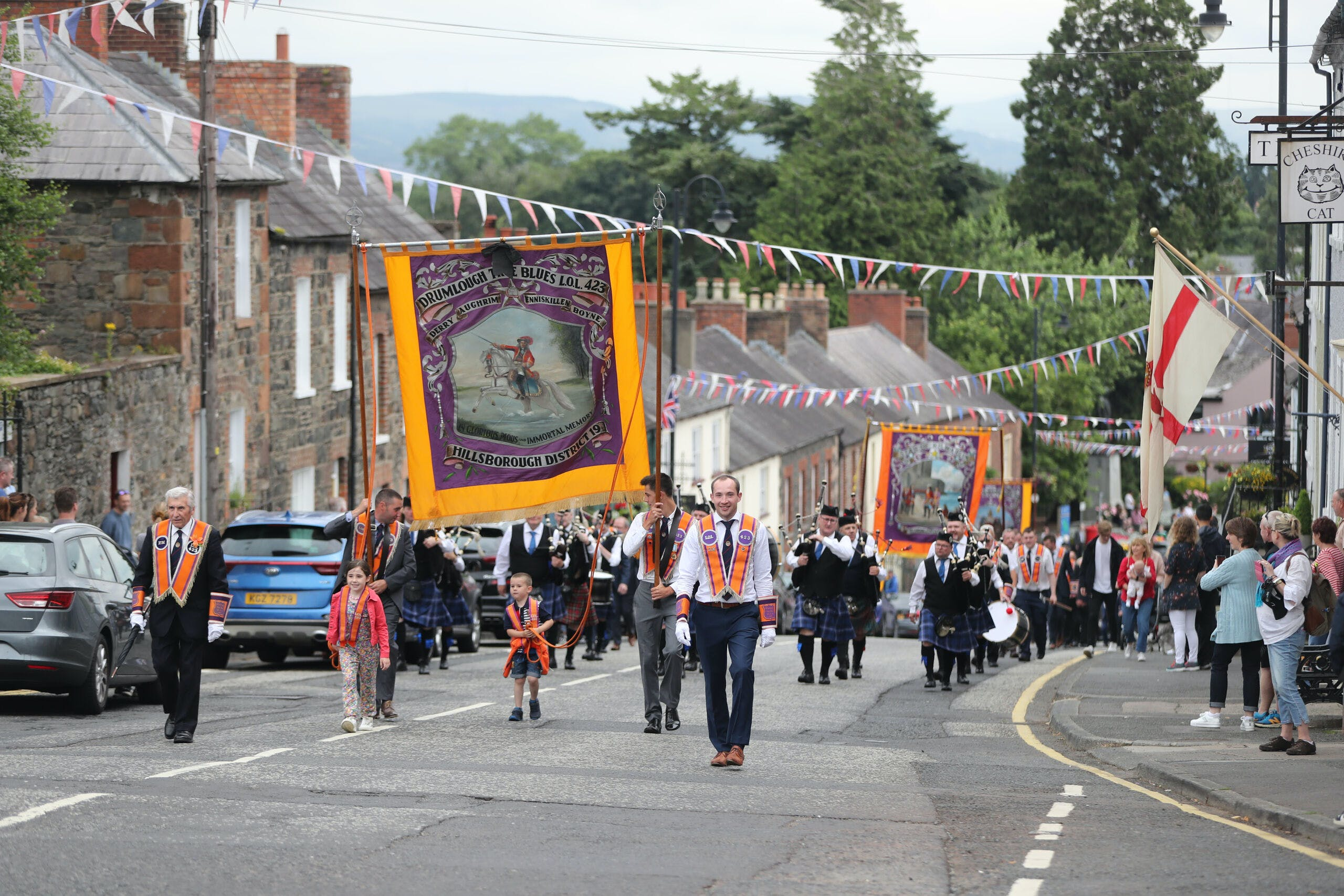 Orange parades in Northern Ireland have been further loaded this year