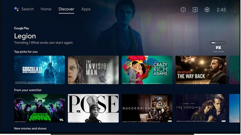 The Google TV app is coming to Belgium, but not to the Netherlands yet