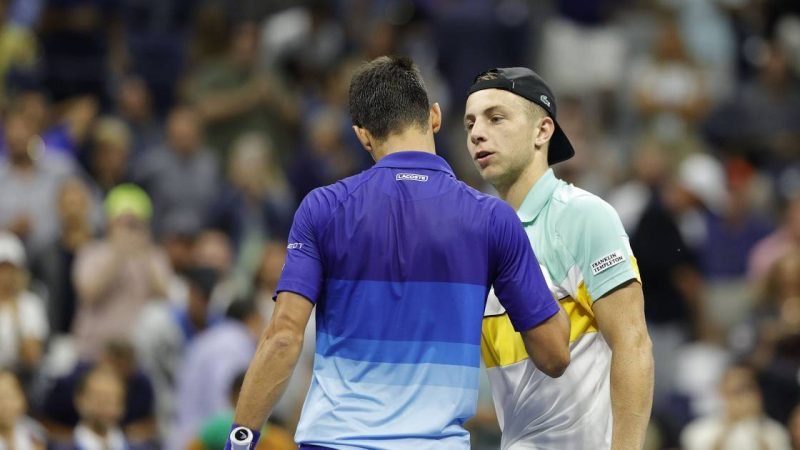 A clip the size of the Greek track for Djokovic: 'I didn't feel good at all'    sports