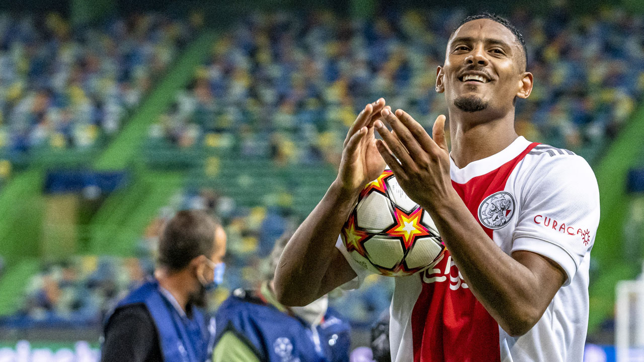 Ajax star Haller qualified in style for the Champions League