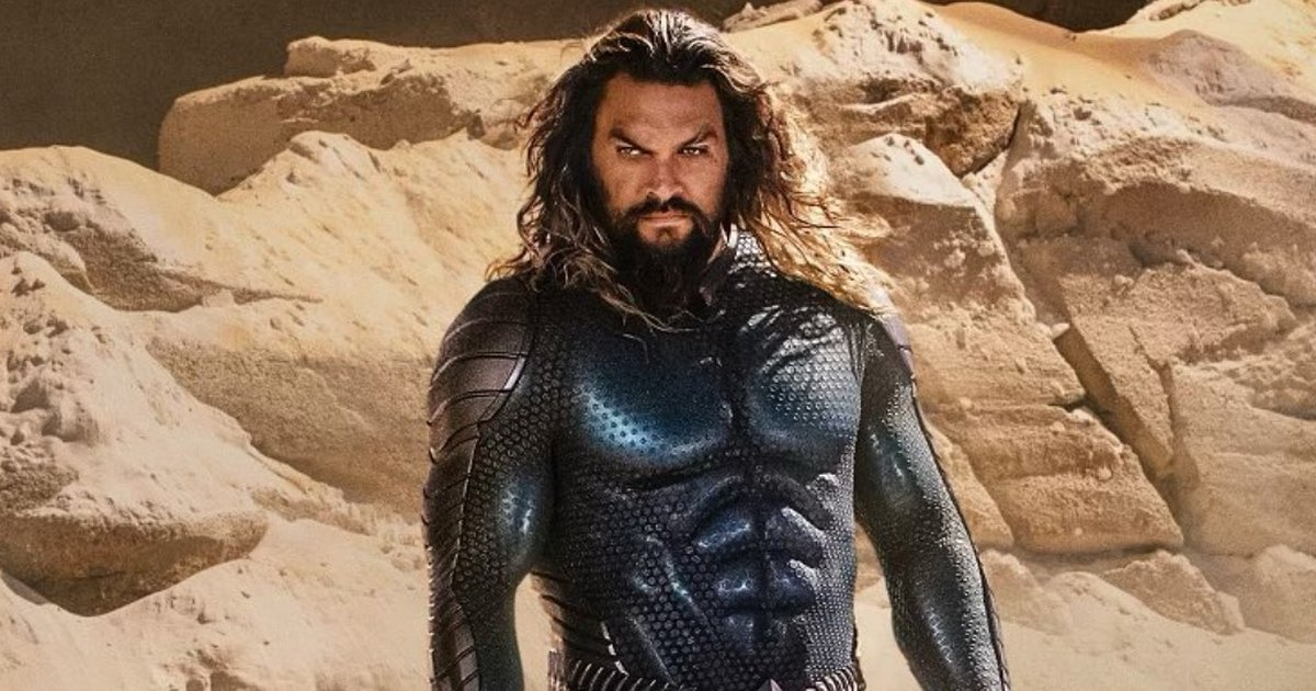 Aquaman got a completely different look