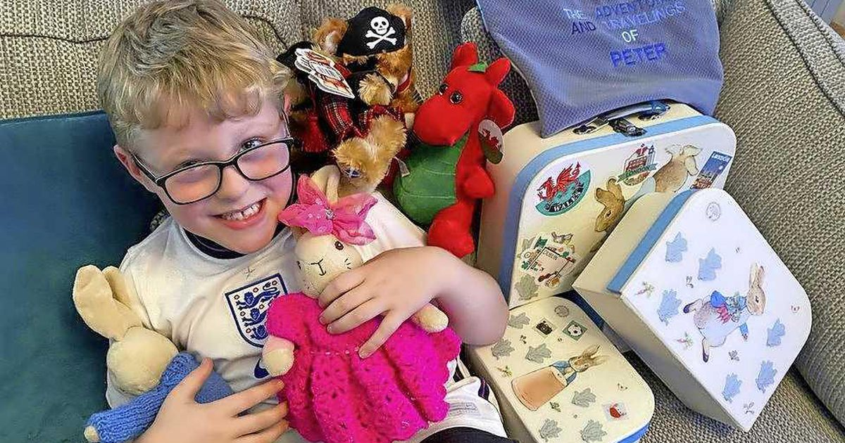 Britain's Ethan (7 years old) overwhelmed with hugs and cards after Grandma's Facebook call |  Abroad