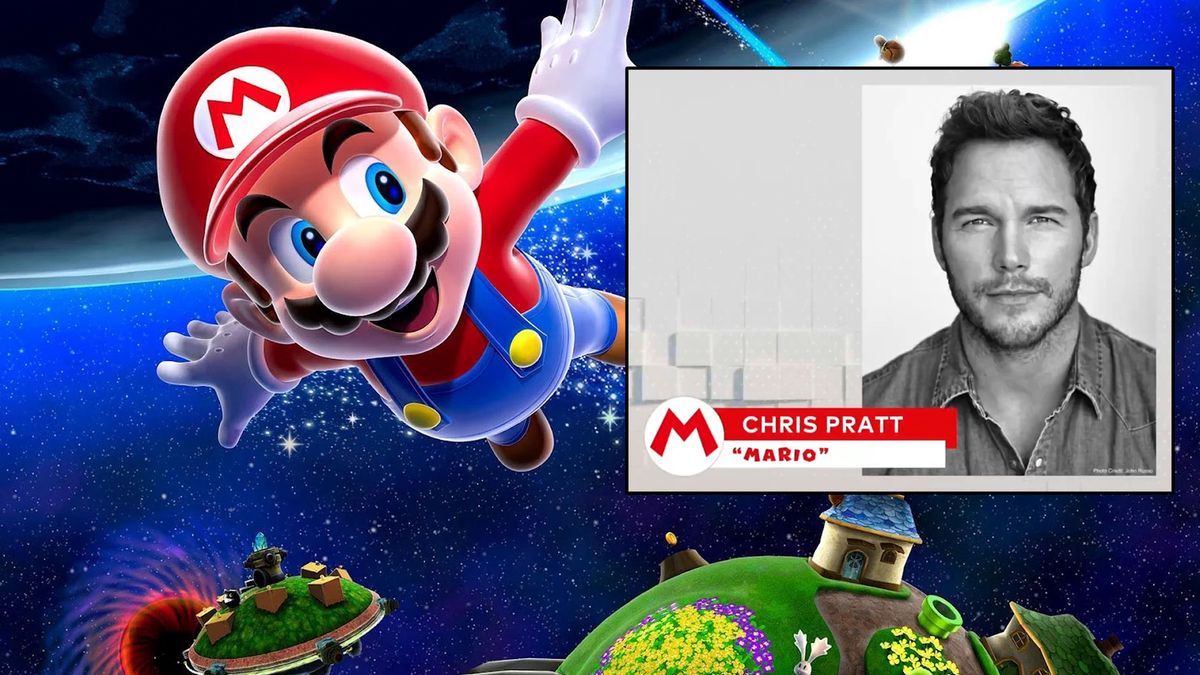 Chris Pratt will play Mario in the upcoming Super Mario movie