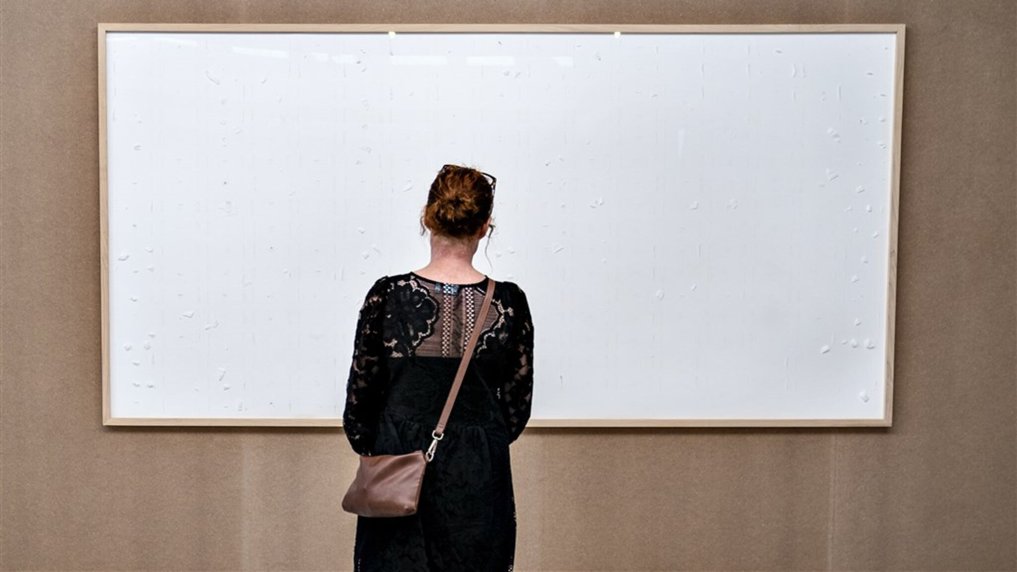 Danish artist hands over a blank canvas and takes 70,000 euros and calls it 'art'
