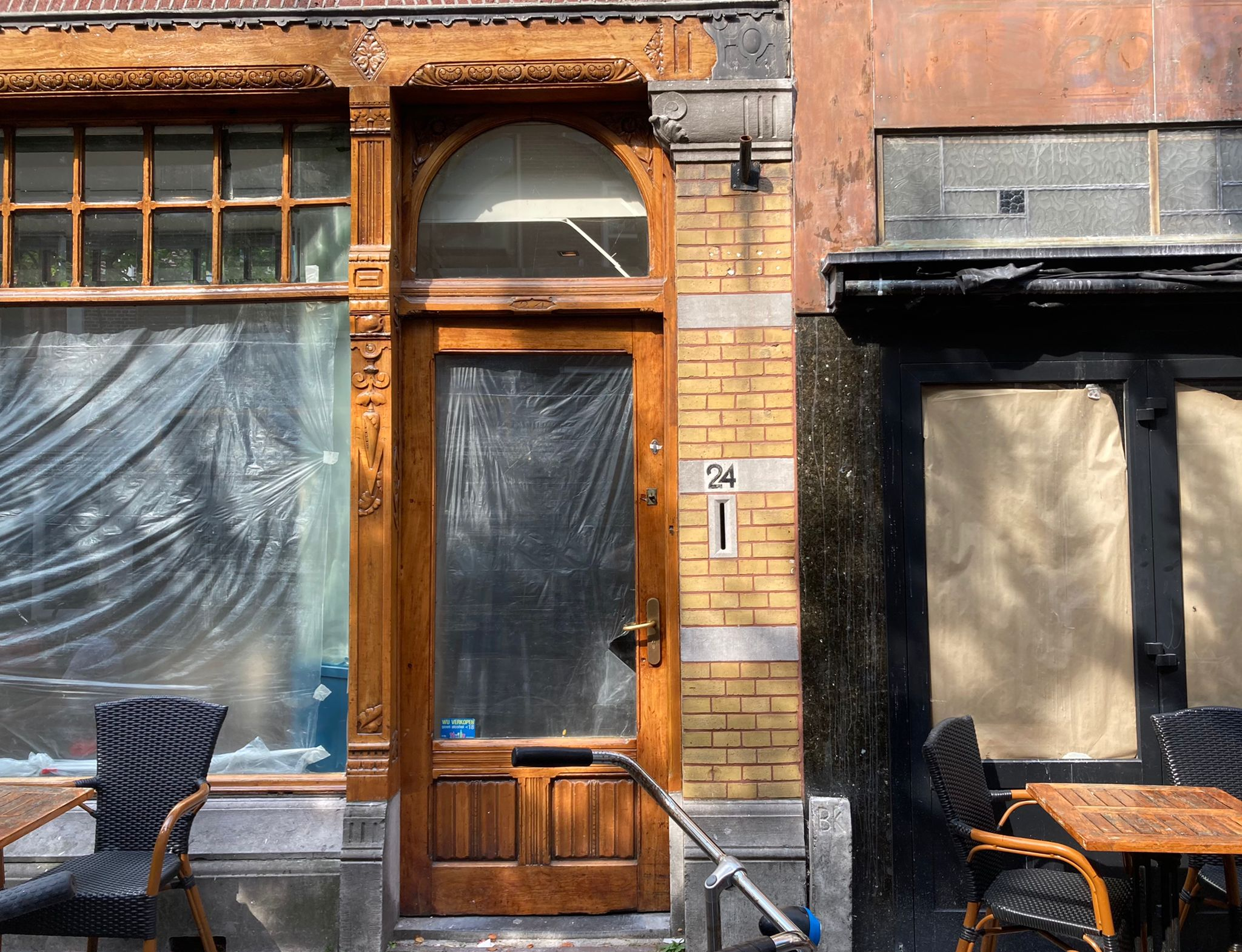 Good!  It will be in the old building of the Leonidas Lounge in Surstrat