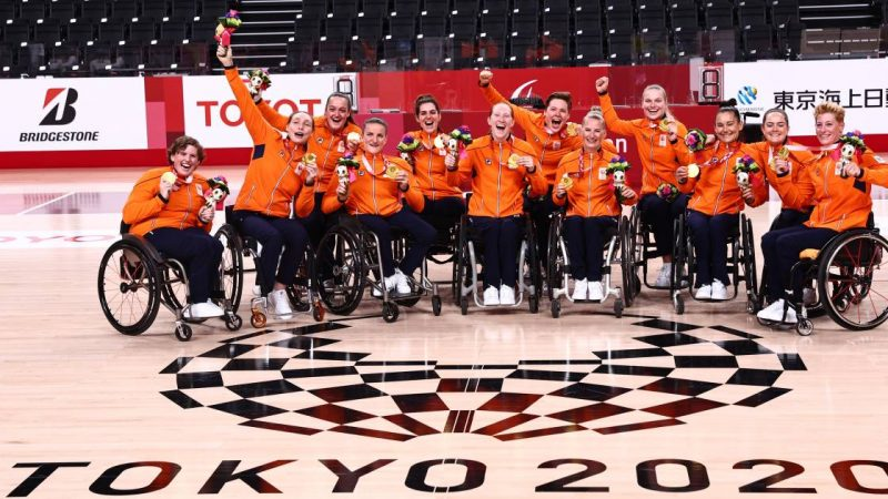 Paralympic medalist mirror: Netherlands finish with 25 gold in fifth place    Games for people with special needs