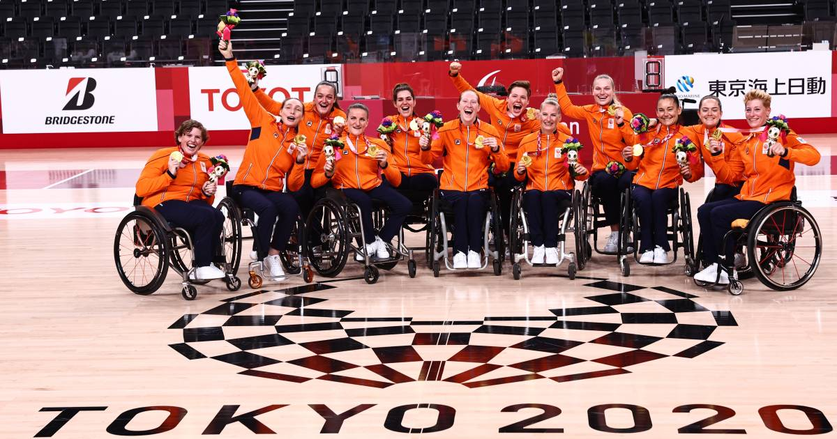 Paralympic medalist mirror: Netherlands finish with 25 gold in fifth place |  Games for people with special needs