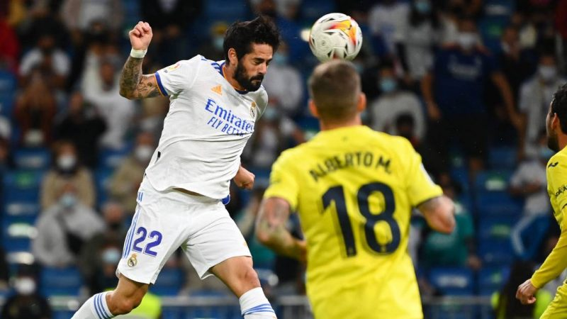 Real Madrid is stuck against Villarreal with a draw |  foreign football