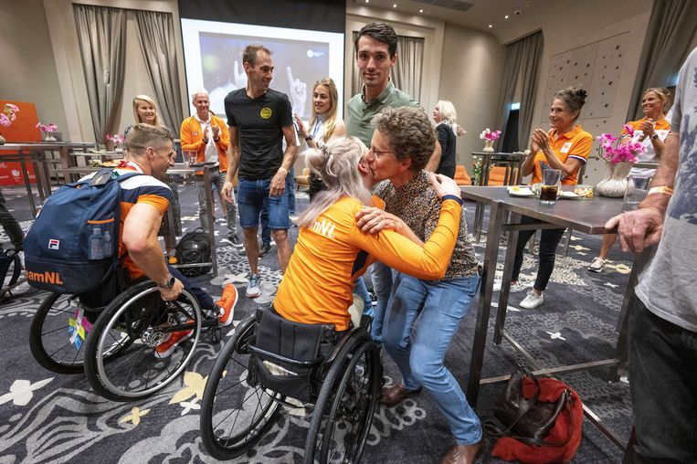 The Netherlands closes the Paralympic Games in fifth place in the medal standings
