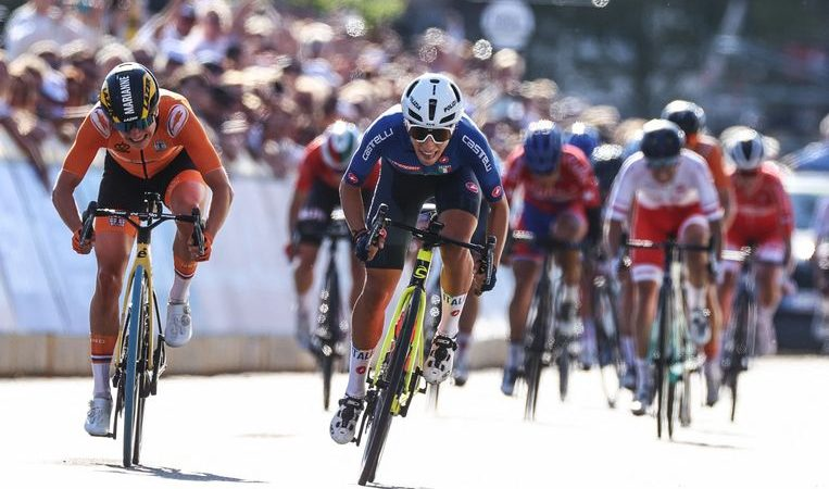Voss has to settle for the silver: Italy's Balsamo wins the World Cup on the road