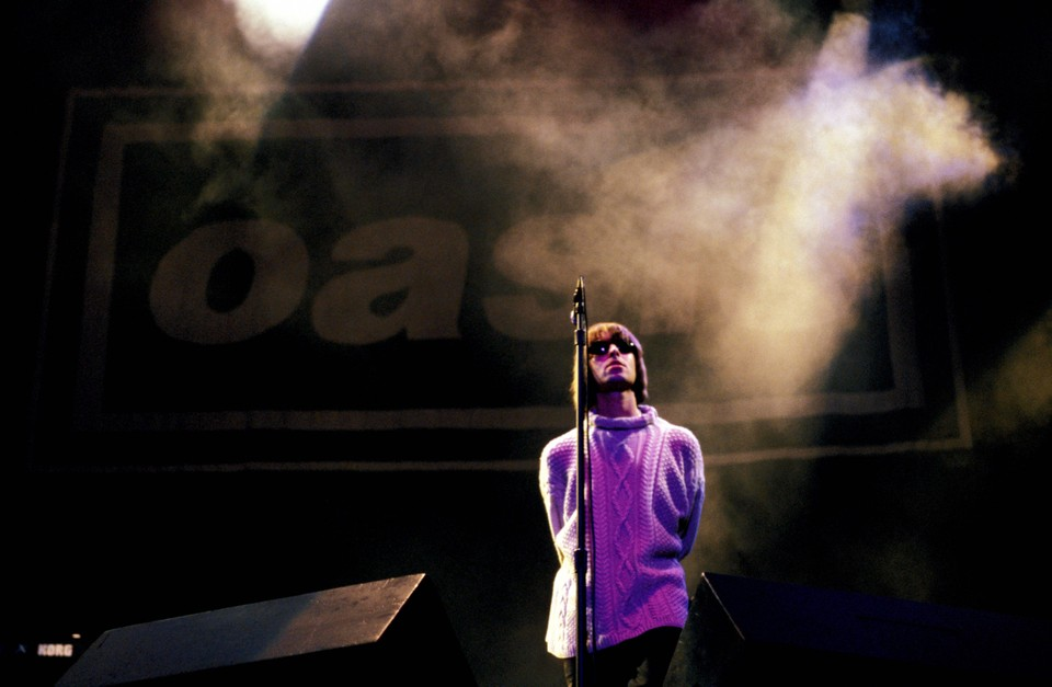Liam Gallagher Van Oasis.