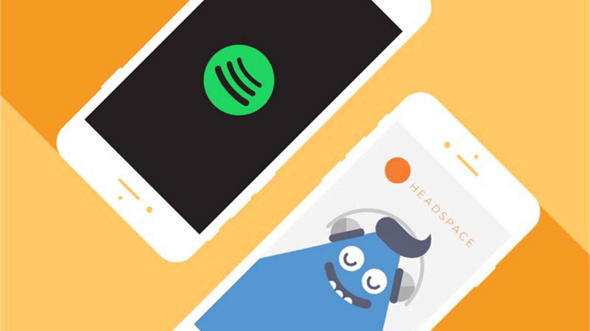Spotify allies with headspace for contentment and meditation