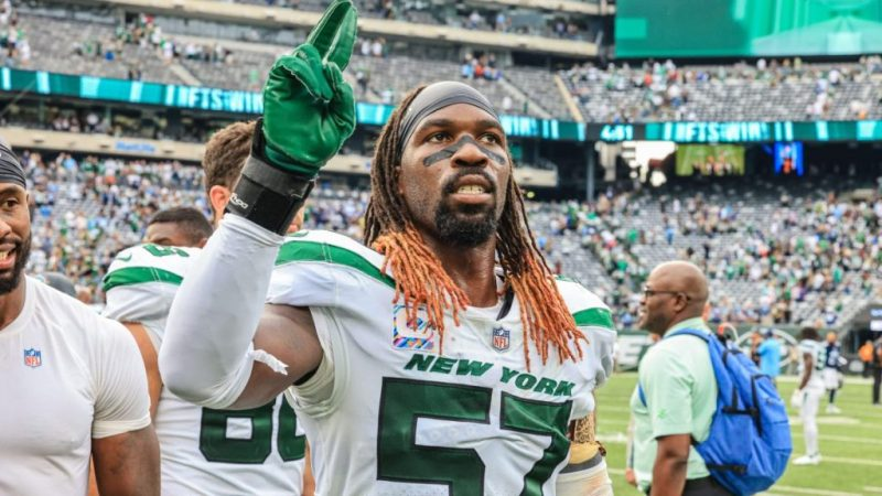 Jets LB CJ Mosley's advice to London football fans: Download Madden