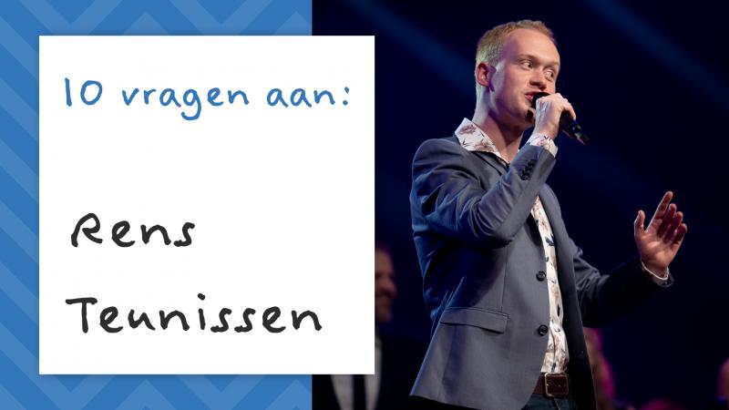 10 questions to: Rens Teunissen #5
