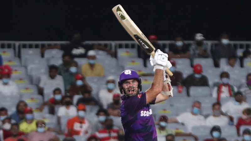 Scotland advance to T20 World Cup Super 12 by eight wickets against Oman
