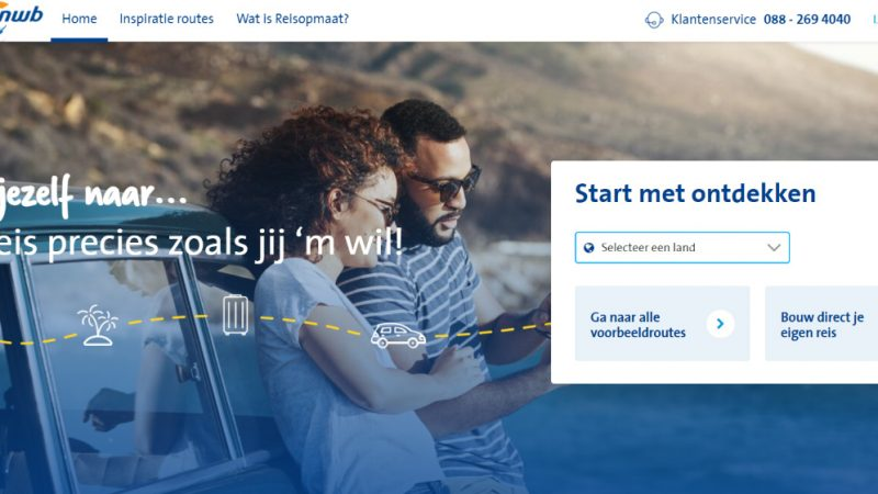 ANWB introduces Reisopmaat, which allows consumers to create a (round) journey