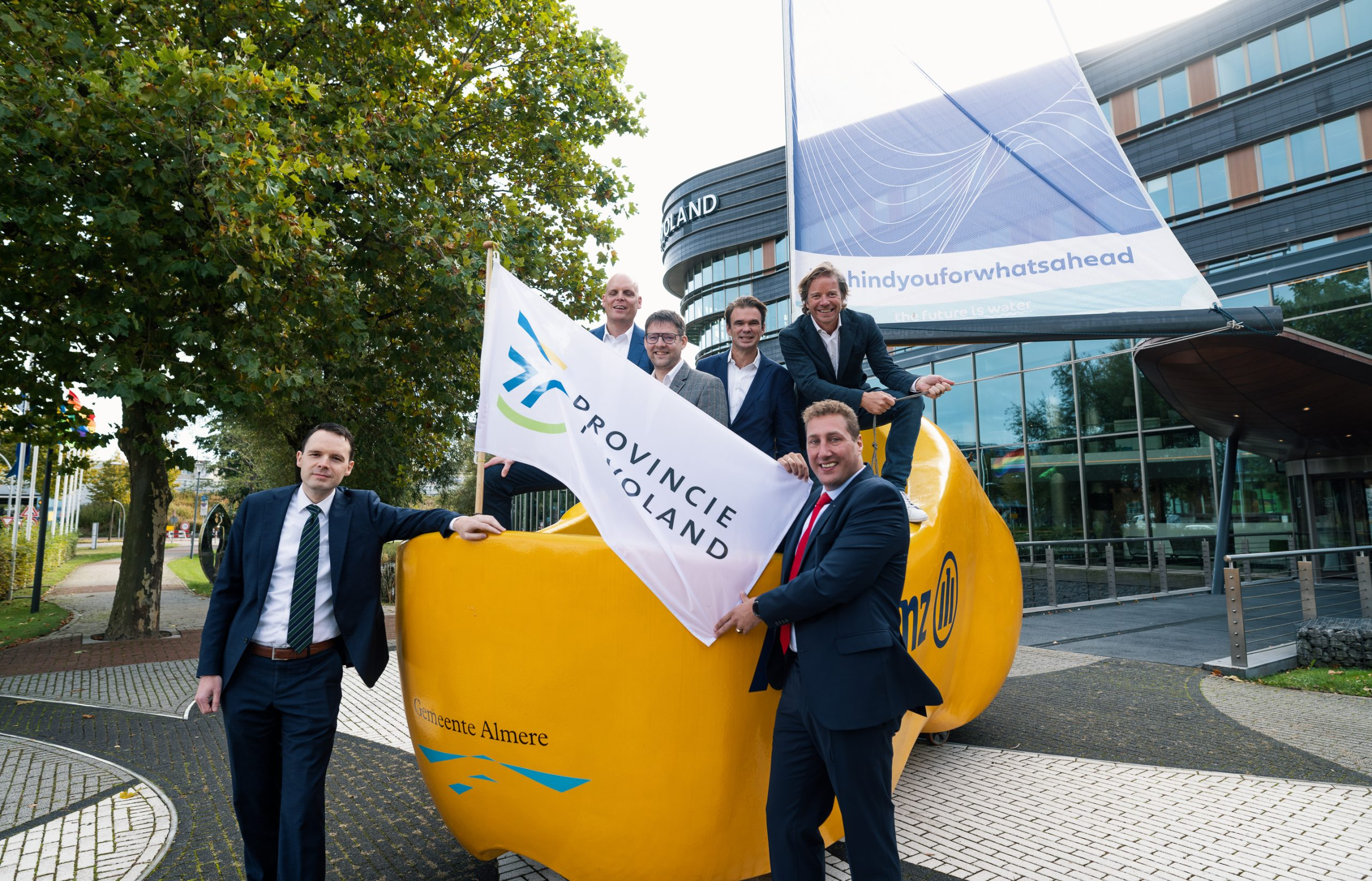 Allianz Regatta to Almira as part of Dutch Water Week
