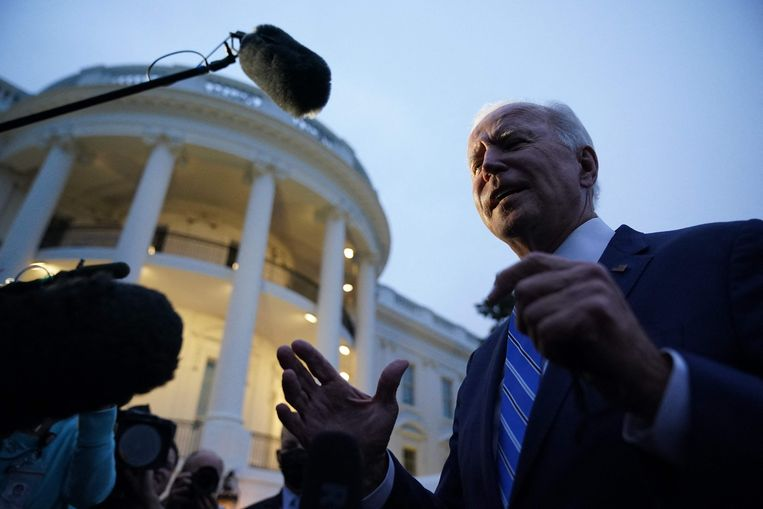 Biden is sharply backing away from his ambitions for a stronger social safety net to win broader support