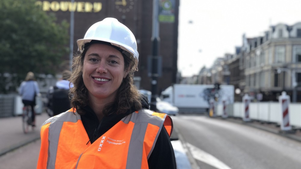 """Busy Stadhouderskade junction safer: """"More space because cars will soon use the tram track"""""""