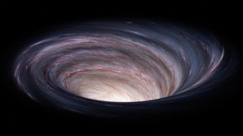 Evidence has been found for a mysterious 'hole' in the very young solar system
