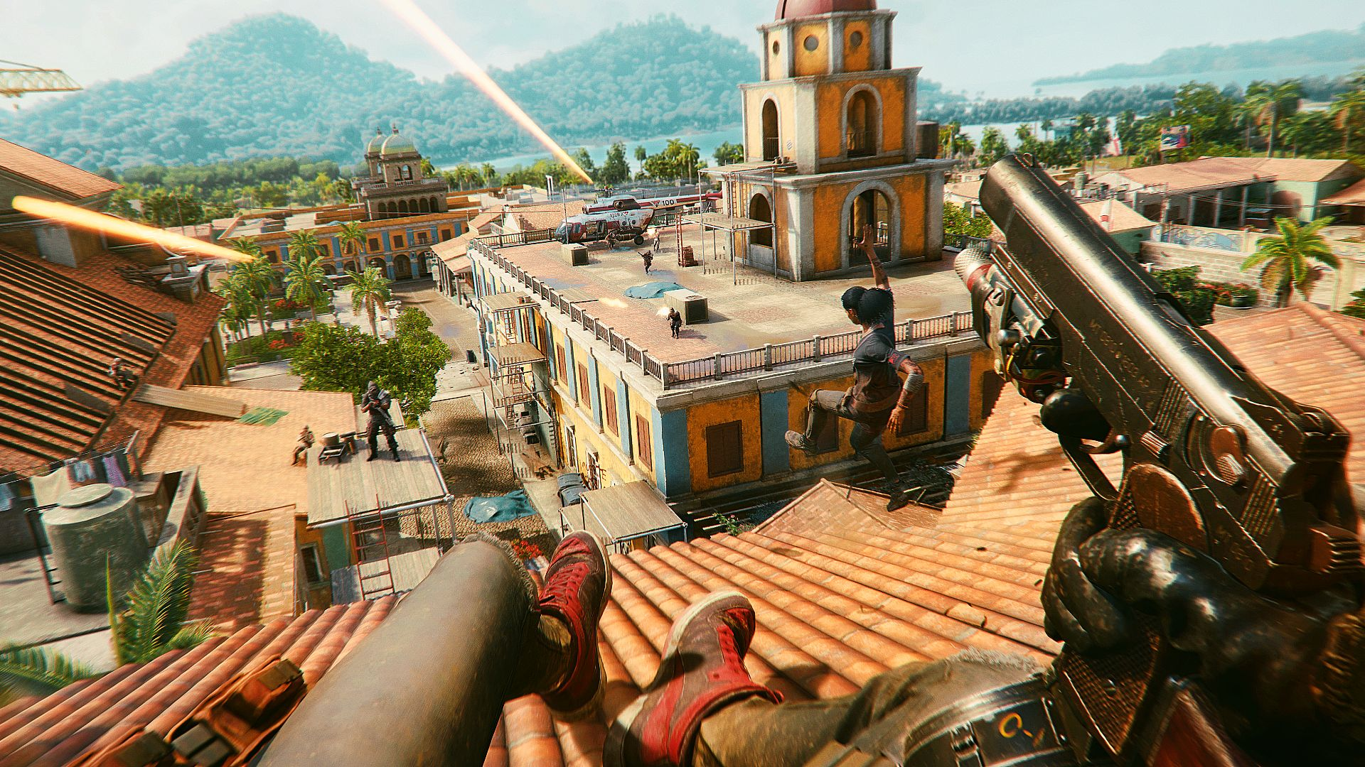 Far Cry 6 review in progress