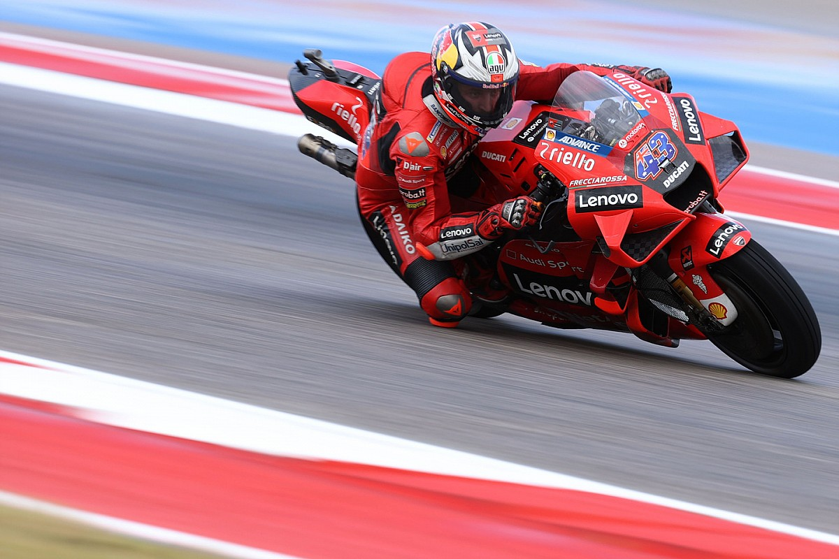Miller dominates the third practice for the United States GP