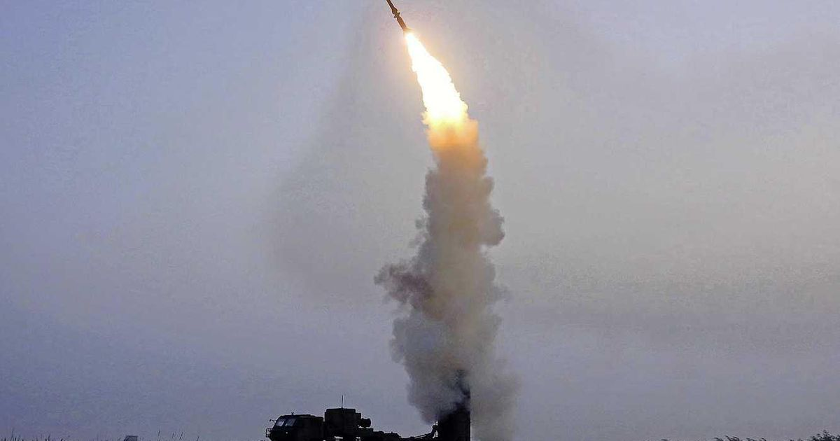 North Korea launches anti-aircraft missile    Abroad