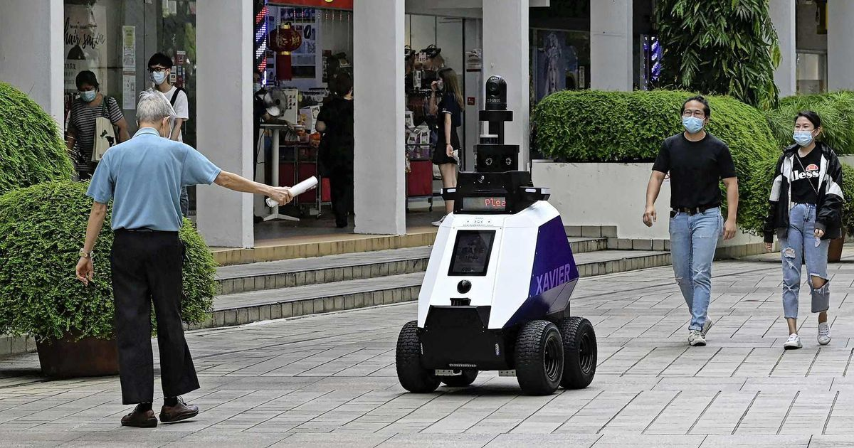 Singapore fears 'dystopia' with patrol robots |  Abroad