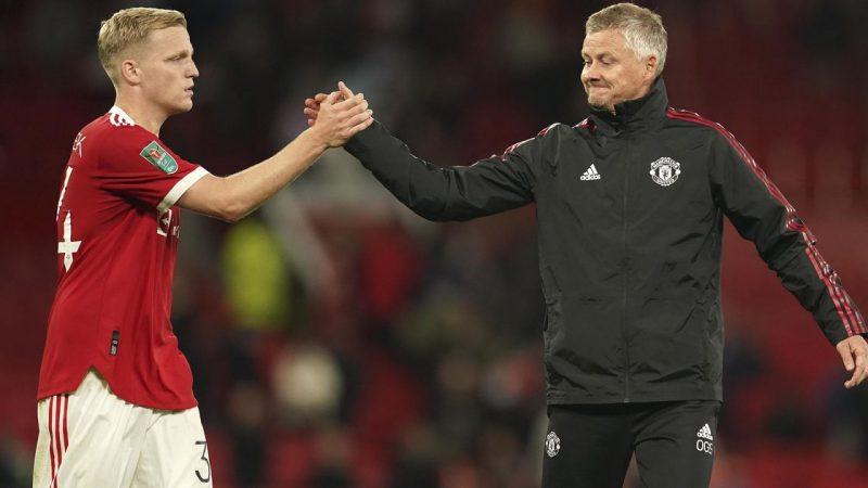 Solskjaer warns Donny van de Beek: 'No one was more than me' |  football