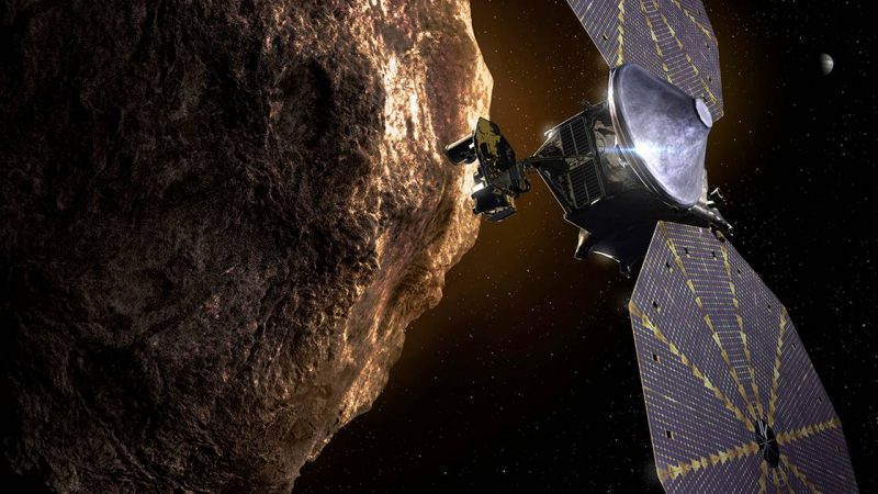 Space probe Lucy embarks on a years-long journey to the rocks near Jupiter |  Science