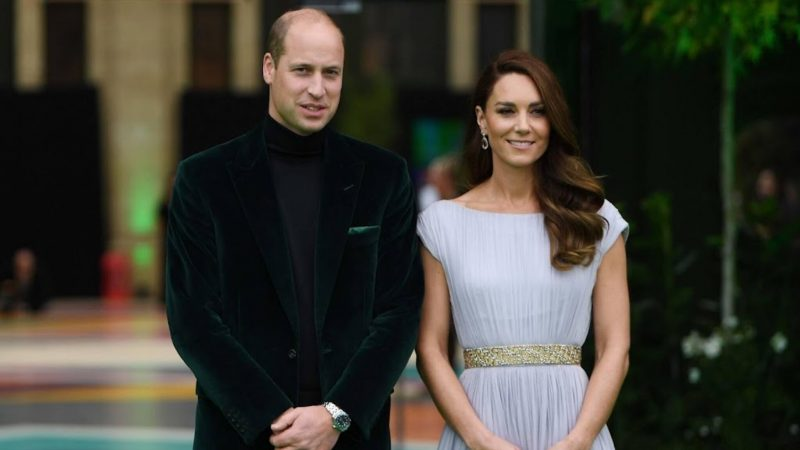 Stars march for Prince William Earthshot Award