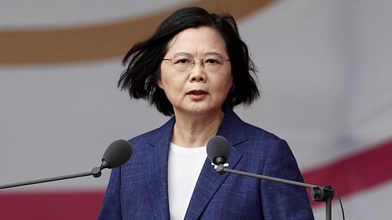 Taiwan president: We will not acquiesce in China