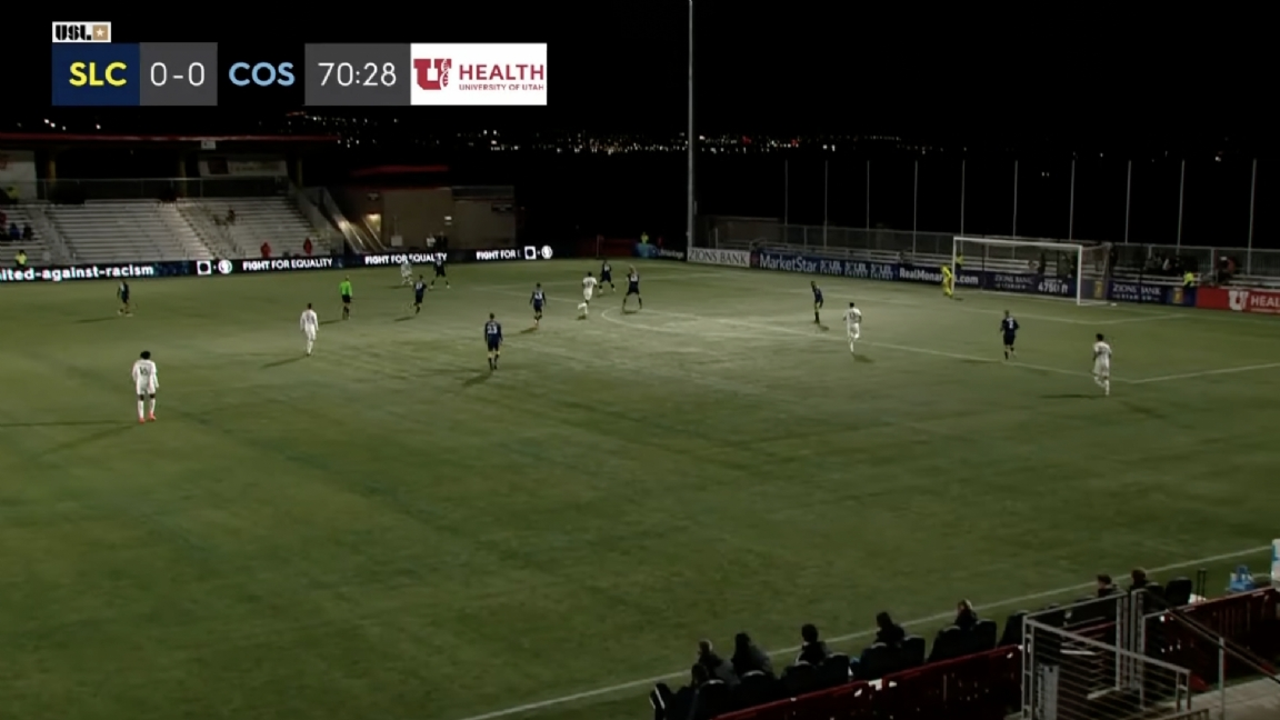 The thirteen-year-old (!) Striker is making history with his debut in the United States
