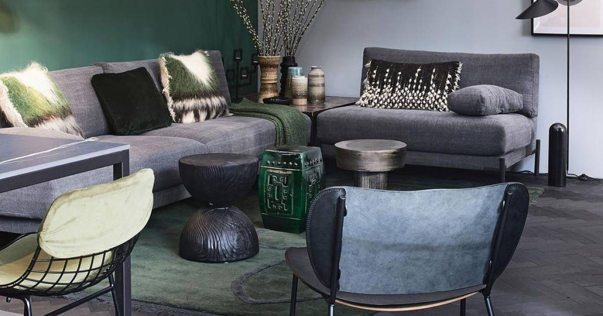 This is how you furnish a small living room with efficiency and taste |  living