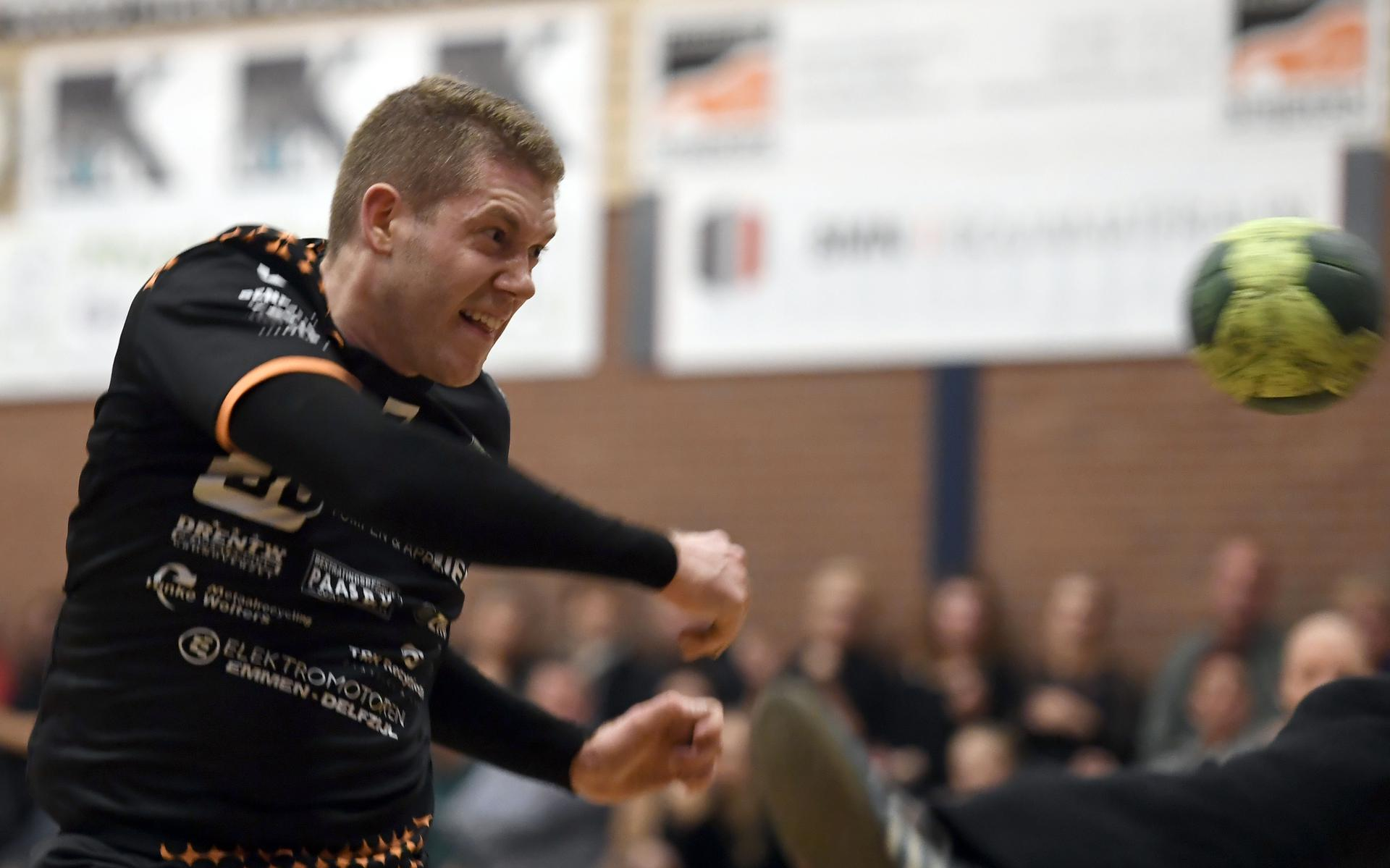 Tommy Falk of Emmen in the Dutch national team selection for the prestigious tournament in Norway.  Men's handball begins preparations for the second European Championship