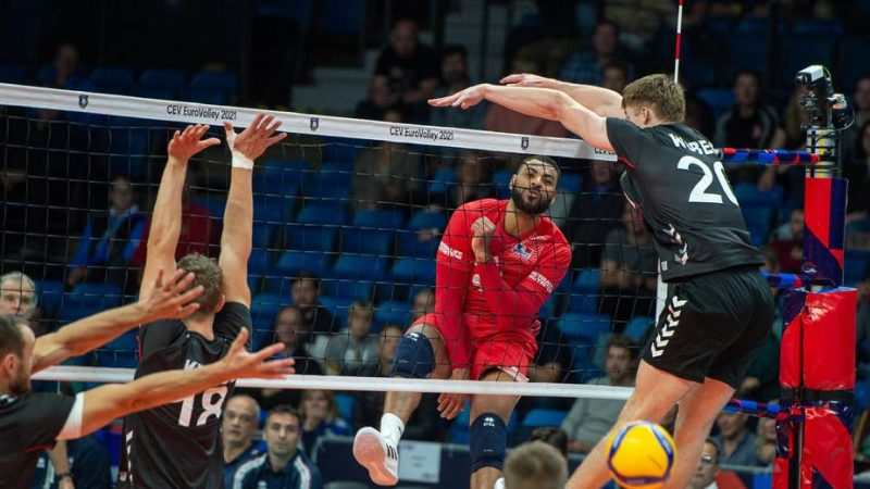 Volleyball: France with Slovenia and Germany in the 2022 World Cup